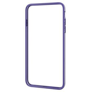 iPhone6 Plus ケース ハイブリッドバンパー パープル iPhone 6 Plus