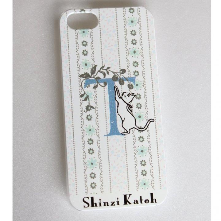iPhone SE/5s/5 ケース Shinzi Katoh イニシャル iPhone SE/5s/5ケース T_0