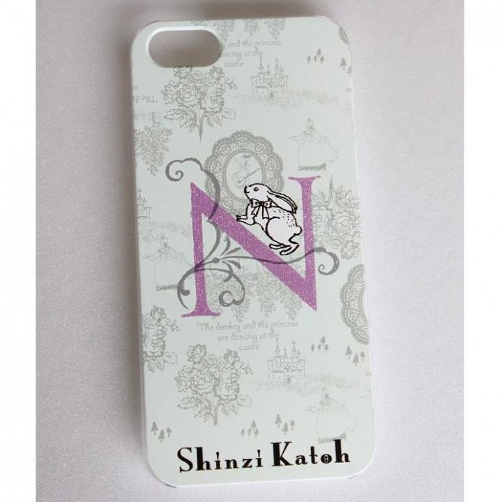 iPhone SE/5s/5 ケース Shinzi Katoh イニシャル iPhone SE/5s/5ケース N_0
