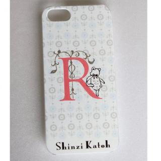 Shinzi Katoh イニシャル iPhone SE/5s/5ケース R