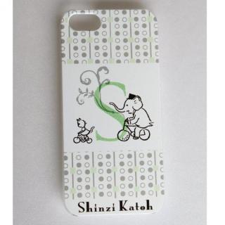 Shinzi Katoh イニシャル iPhone SE/5s/5ケース S