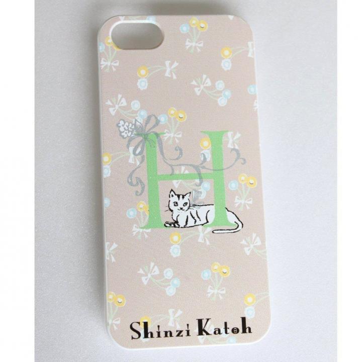 iPhone SE/5s/5 ケース Shinzi Katoh イニシャル iPhone SE/5s/5ケース H_0