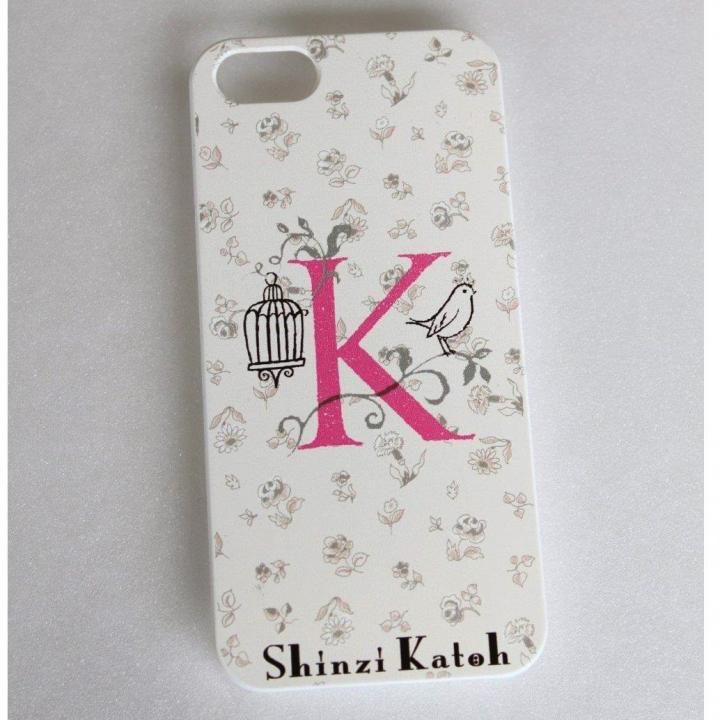 iPhone SE/5s/5 ケース Shinzi Katoh イニシャル iPhone SE/5s/5ケース K_0