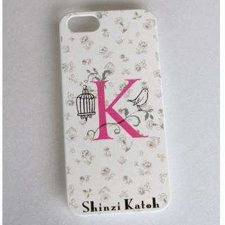 Shinzi Katoh イニシャル iPhone SE/5s/5ケース K
