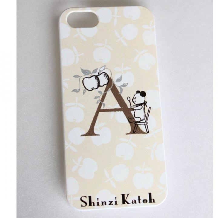 Shinzi Katoh イニシャル iPhone SE/5s/5ケース A