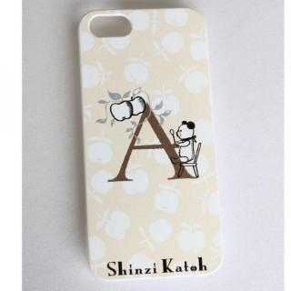 【iPhone SE/5s/5ケース】Shinzi Katoh イニシャル iPhone SE/5s/5ケース A