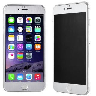 iPhone6s Plus/6 Plus フィルム 覗き見防止フィルム メタルフレーム シルバー iPhone 6s Plus/6 Plus