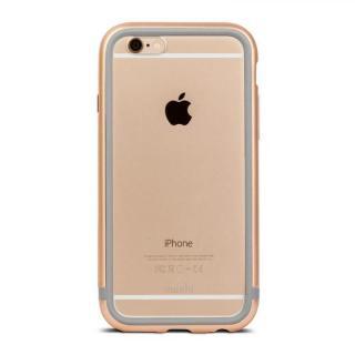 【iPhone6s/6ケース】moshi iGlaze Luxe アルミニウムバンパー サテンゴールド iPhone 6/6s_1