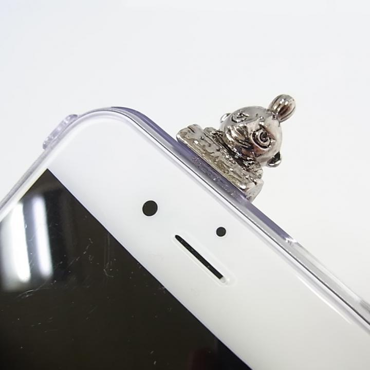 iPhone6 ケース しがみつくミィ ハードケース シルバー iPhone 6s/6_0