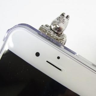 しがみつくムーミン クリアハードケース シルバー iPhone 6s/6