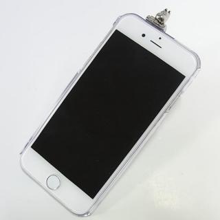 【iPhone6ケース】しがみつくムーミン クリアハードケース シルバー iPhone 6s/6_1