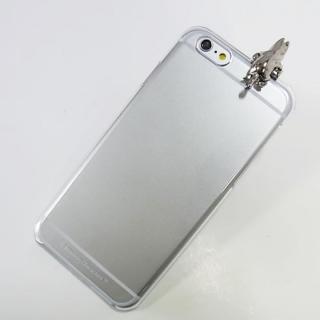 【iPhone6ケース】しがみつくムーミン クリアハードケース シルバー iPhone 6s/6_2