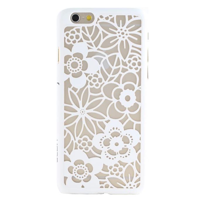 【iPhone6ケース】Rococo ハードケース ホワイト iPhone 6_0