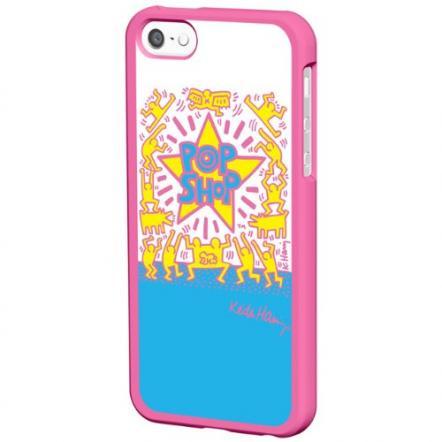 キース・ヘリング Bezel Case iPhone SE/5s/5 POP SHOP/Pink