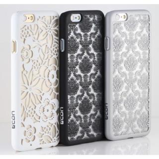 【iPhone6ケース】Rococo ハードケース ホワイト iPhone 6_3