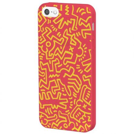 Keith Haring Collection  iPhone 5 Chaos/Red x Yellow