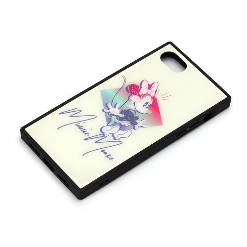iPhone8/7/6s/6 ケース ディズニー ガラスハイブリッドケース ミニーマウス iPhone 8/7/6s/6_0