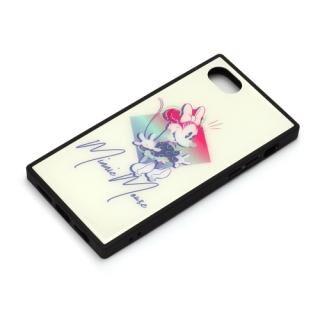 iPhone8/7/6s/6 ケース ディズニー ガラスハイブリッドケース ミニーマウス iPhone 8/7/6s/6