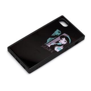 iPhone8/7/6s/6 ケース ディズニー ガラスハイブリッドケース ジャスミン iPhone 8/7/6s/6