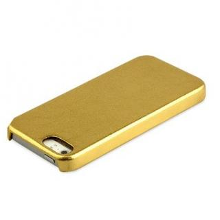 【iPhone SE/5s/5ケース】ZENUS iPhone SE/5s/5 レザー手帳型ケース 本革 ゴールド_1