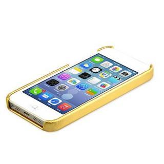 【iPhone SE/5s/5ケース】ZENUS iPhone SE/5s/5 レザー手帳型ケース 本革 ゴールド_2
