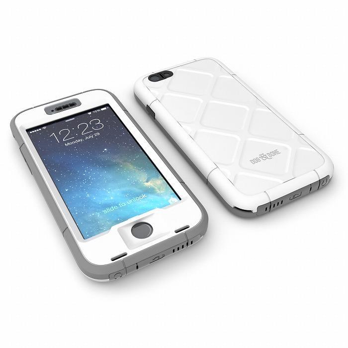 iPhone6s Plus/6 Plus ケース Touch ID対応 防水/防塵/防雪/耐衝撃ケース WETSUIT シルバー iPhone 6s Plus/6 Plus_0