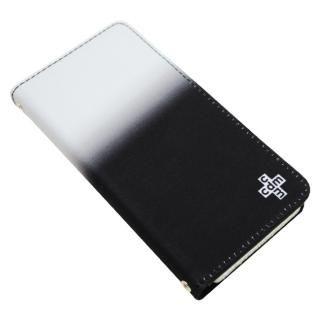 【iPhone8/7/6s/6ケース】CDM グラデーション 手帳型ケース ブラック iPhone 8/7/6s/6_1
