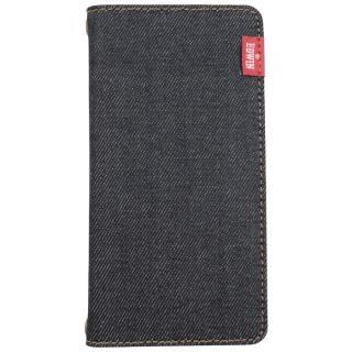 EDWIN タグデニム 手帳型ケース ブラック iPhone 8/7/6s/6【2019年1月中旬】