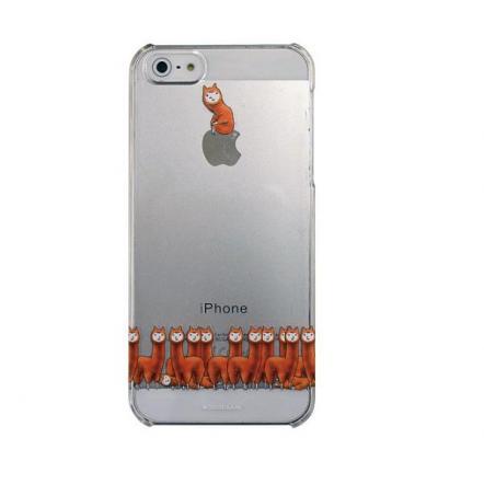 カスタムカバーiPhone5(アルパカにいさん おすわり)
