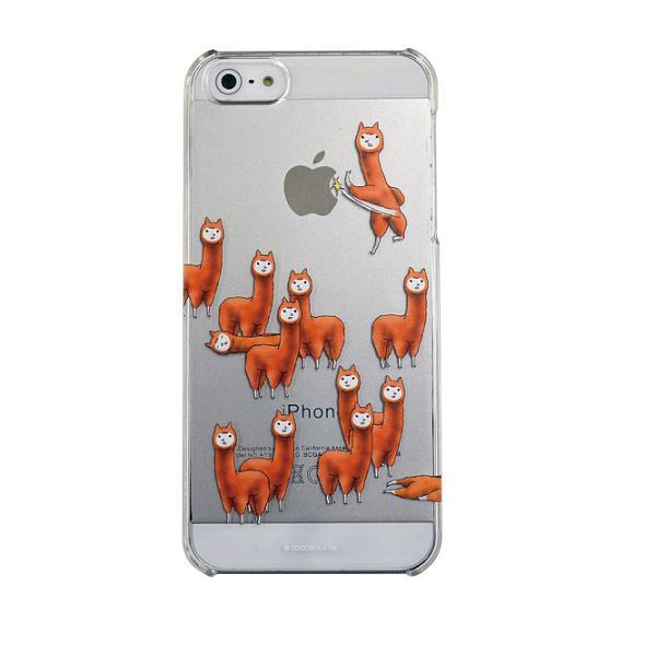 【iPhone SE/5s/5ケース】カスタムカバーiPhone5(アルパカにいさん アタック)_0