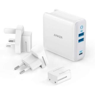 Anker PowerPort III 3-Ports 65W 急速充電器【4月中旬】