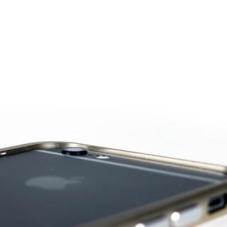 【iPhone6ケース】手帳×アルミバンパーケース Cuoio 黒×シルバー iPhone 6_3