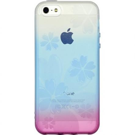染ART iPhone 5 フラワー
