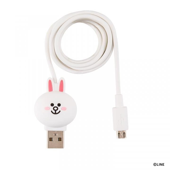 [1m]LINE FRIENDS 充電&データ Micro USBケーブル コニー_0
