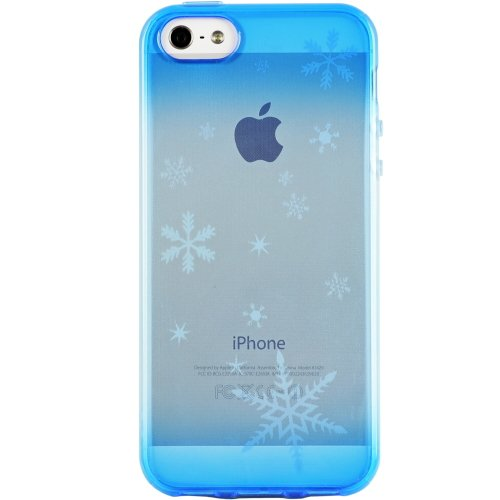 【iPhone SE/5s/5ケース】染ART ユキ iPhone 5 ケース_0