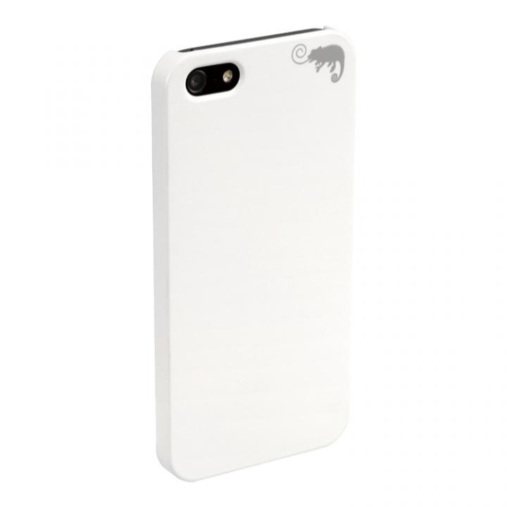 iPhone SE/5s/5 ケース iPhone SE/5s/5用 カメレオンケース(ホワイト)【White】_0