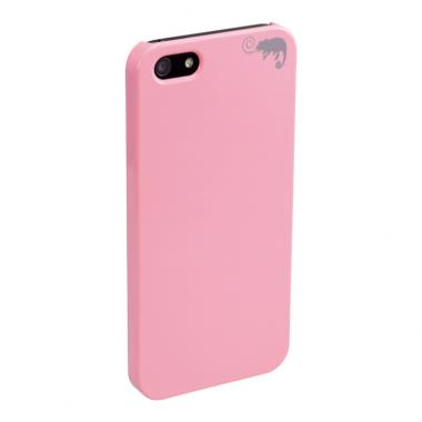 iPhone SE/5s/5用 カメレオンケース(ピンク)【Pink】