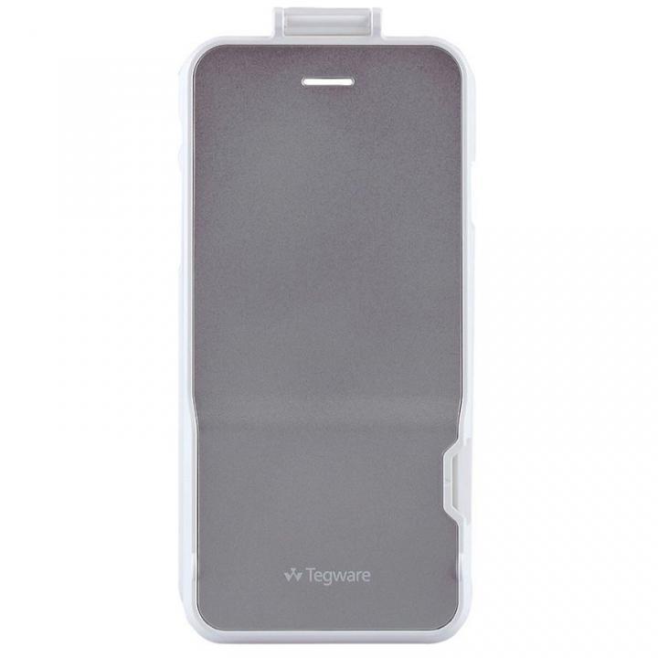 【iPhone6ケース】電子メモ+ハードケース Tegware Bagle360 シルバー iPhone 6_0