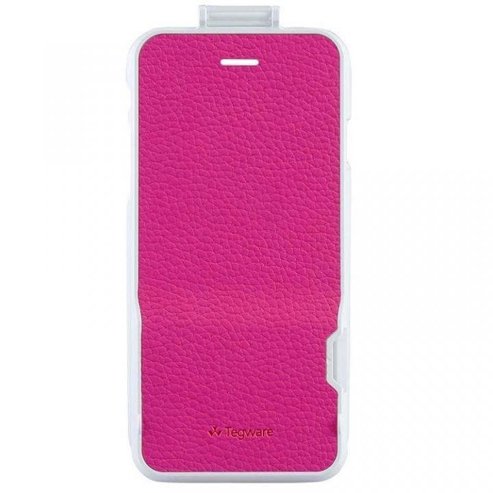 電子メモ+ハードケース Tegware Bagle360 ピンク iPhone 6