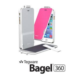 【iPhone6ケース】電子メモ+ハードケース Tegware Bagle360 シルバー iPhone 6_1