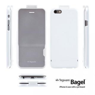 【iPhone6ケース】電子メモ+ハードケース Tegware Bagle360 シルバー iPhone 6_5