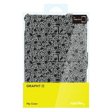 Keith Haring Collection Flip Cover iPad mini/2/3People/Black