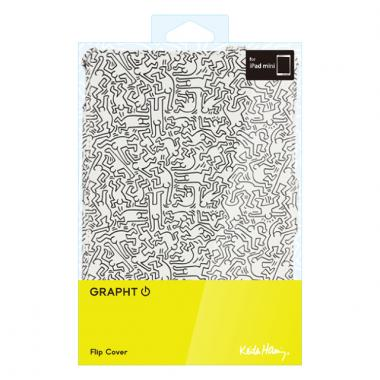 Keith Haring CollectionFlipCover  iPad mini/2/3People/White