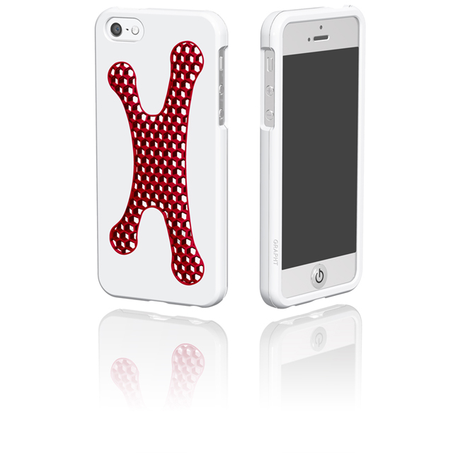 Spider Grip  iPhone 5 White×Red/ホワイト×レッド