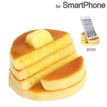 食品サンプルスマホスタンド ホットケーキ iPhone 5s/5c/5/4s/4