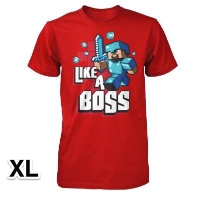 マインクラフト Like a Boss Tシャツ XLサイズ_0
