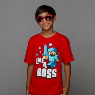 マインクラフト Like a Boss Tシャツ XSサイズ_1