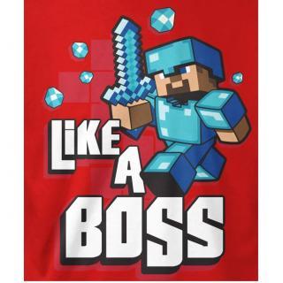 マインクラフト Like a Boss Tシャツ XSサイズ_2