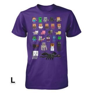 マインクラフト スプライト Tシャツ Lサイズ
