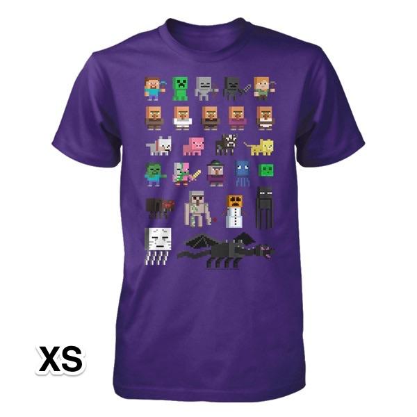 マインクラフト スプライト Tシャツ XSサイズ_0
